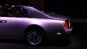 roll royce purple new rolls royce phantom meet the world u0027s most luxurious car