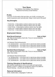 resume layout example resume example and free resume maker