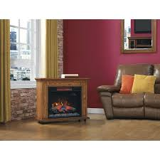 chimney free electric fireplace bjs rolling mantel with infrared