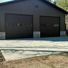 Shed Overhead Door Central Mn Door Service Residential Commercial Garage Door