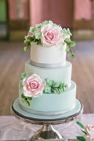 Wedding Cake Green Mint Wedding Cake Picmia