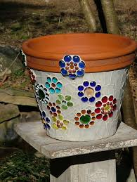 Flower Pots - best 25 mosaic flower pots ideas on pinterest mosaic pots