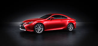 lexus sports car 2 door lexus unveils all new rc coupe lindsay cars blog