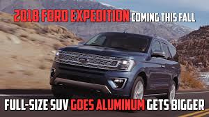 suv ford expedition 2018 ford expedition gears up for the trails with fx4 trim autoblog