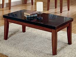 coffee table wonderful granite top coffee table design ideas