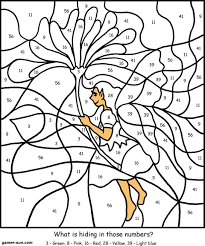 coloring pages christmas games free printable color by number