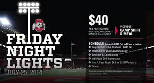 friday night lights ohio your 2014 friday night lights football c primer eleven warriors
