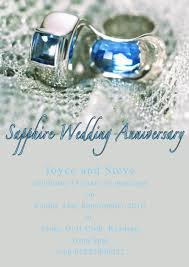 45 wedding anniversary sapphire rings 45th wedding anniversary