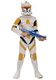 kids clone trooper cody costume