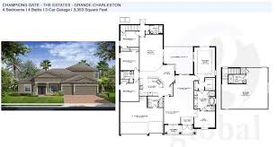 Charleston Floor Plan by Champions Gate Floor Plans