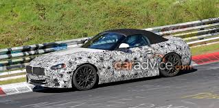 bmw z4 spied inside and out launch due late next year