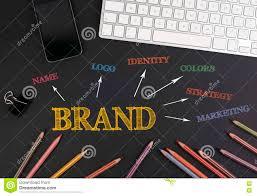 Schwarzer Schreibtisch Marken Konzept Schwarzer Schreibtisch Stockfoto Bild 72836179