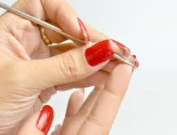 how to take off acrylic nails with dental floss without acetone