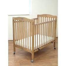 la baby cw the little wood crib x natural mini portable folding