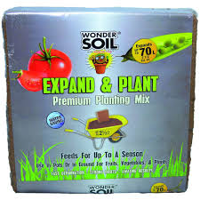 Buy Soil For Vegetable Garden by Wonder Soil 2 1 2 Cu Ft Premium Expand And Plant Complete Mix