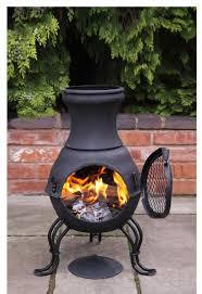 Garden Patio Heater Cast Iron Chimenea Chiminea Garden Heater Wood Burning Stove Patio