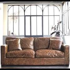 canap cuir vieilli cuir vieilli convertible 9 avec ausziehbares 3 sitzer sofa aus leder