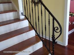 Iron Banister Durham Nc Deck Railings Raleigh Wrought Iron Co