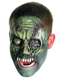 chinless walking zombie mask halloween accessory walmart com