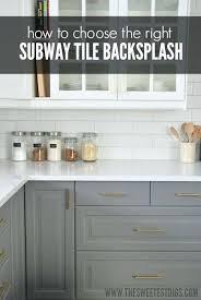 kitchen subway tile backsplash pictures kitchen subway tile backsplash for white cabinets grey kitchen 21