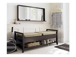 Black Entryway Bench Entryway Bench With Shoe Storage Modern Entryway With Black Wood