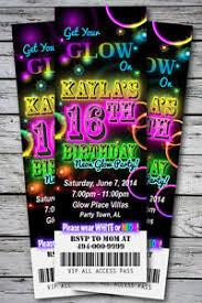 sweet 16 glow in the dark theme neon disco birthday party
