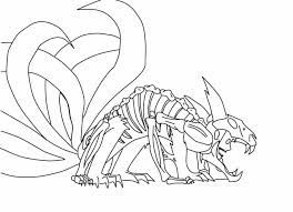 6 tailed beast awakened sketch by uchihaavenger666 on deviantart
