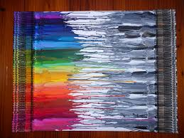 How To Remove Crayon From Walls by 94 Best Crafts Crayons Images On Pinterest Melted Crayon Art