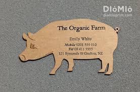 Farm Business Card Organic Piggy Farm Diomioprint