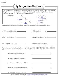 theorem worksheets