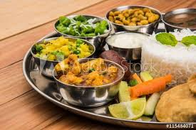 acheter cuisine complete indian food platter indian thali indian veg thali paratha rice