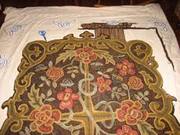 new border ideas for room sized hooked rug cindi rug hooking