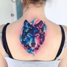 the 25 best watercolor wolf tattoo ideas on pinterest wolf