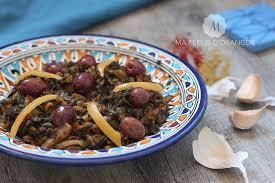 jeux de cuisine marocaine blettes aux épices à la marocaine