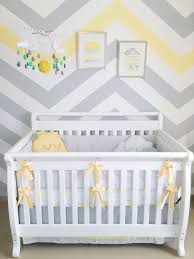 Gray And Yellow Nursery Decor You Are My Baby Nursery Gray And Yellow Chevron Cloud