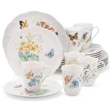 lenox 18 butterfly meadow dinnerware set 6342794 the home