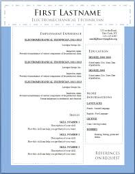 Word Resume Template 2014 8 Best Images Of Resume Cv Template Free Creative Resume