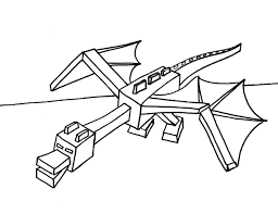 minecraft coloring pages ender dragon just colorings