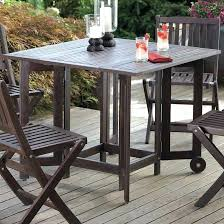 Patio Table With Umbrella Hole Folding Patio Table With Umbrella Hole Uk 3 Fold N Half Aluminum