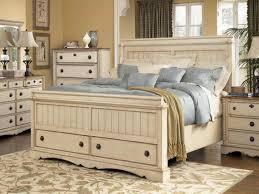 white bedroom set full full fabric bed cover cream shag rug