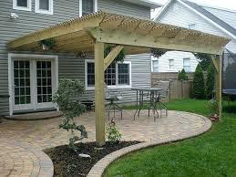 Pergola Plans Designs by Diy Attached Pergola Plans Attached Wood Pergola Plans Attached