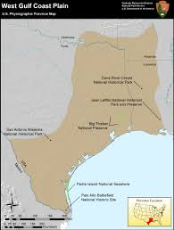 Map Of Gulf Coast Nps Explore Nature Geologic Resources Education Concepts
