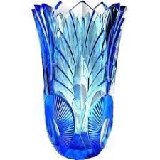 Cobalt Blue Crystal Vase Details About Exclusive Pair Of Rare Cobalt Blue Crystal Vases