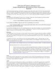 apa format directions sle research paper using apa format 6th edition