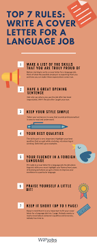 cover letter important top 7 how to write a cover letter for a language