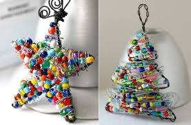 diy ornaments using wire and colorful find