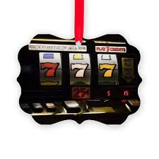 7 s at slot machine ornament by bigstock