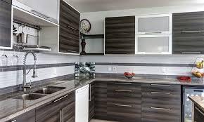 cuisine 2 couleurs meuble de cuisine 2 couleurs idée de maison et déco