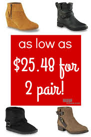 womens boots kmart kmart bogo 50 shoes sale as low as 25 48 for 2 pair