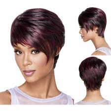 hair products for pixie cut medusa hair products red afro short pixie cut style wig with
